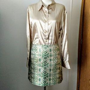 J. Crew Jacquard party skirt